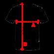 Férfi iráni válogatott póló -szürke-piros-Irán (M)