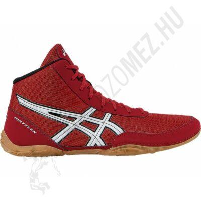 ASICS MATFLEX 5GS Gyerek fűzős birkózócipő(piros-ezüst)