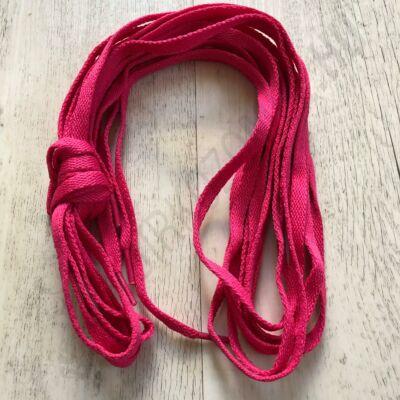 Cipőfűző - pink, 180cm-s