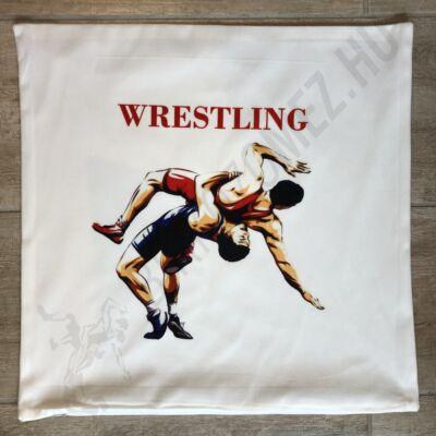Párnahuzat, fehér wrestling