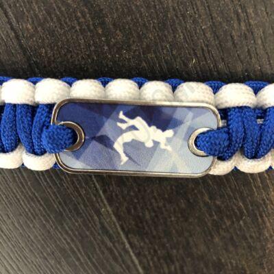 Paracord karkötő-kék