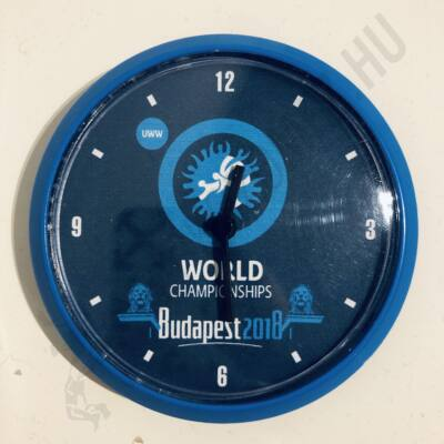 Mágneses, kék-kék kicsi óra Lánchíd(8cm)