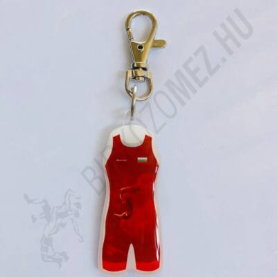Kulcstartó Bulgár mez - piros