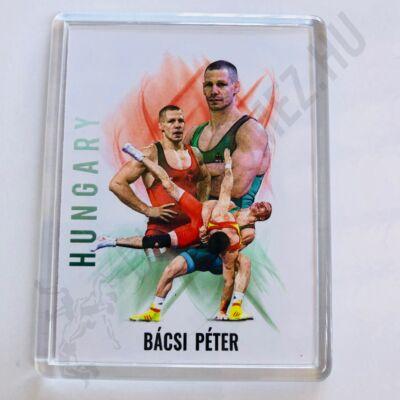 Bácsi Péter-hűtőmágnes
