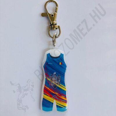 Kulcstartó Román mez - kék