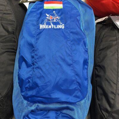 ASICS Sporttáska - MAGYAR Zászlós, hímzett, nagy - kék