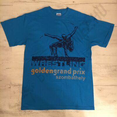 Férfi póló - Golden grand prix-kék