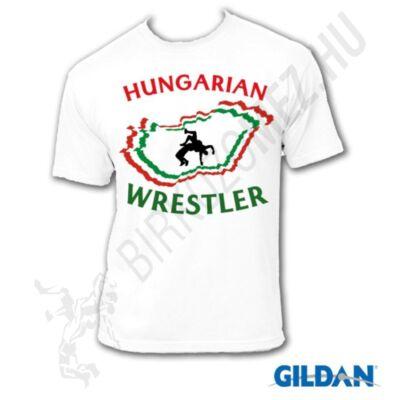 Hungarian Wrestler - Fehér