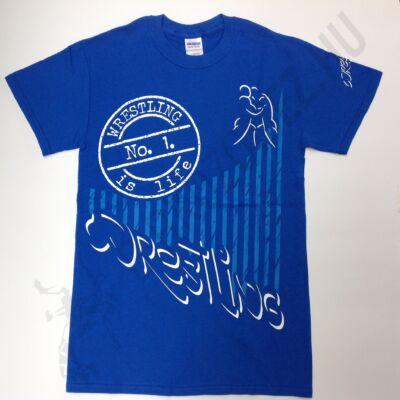 Férfi póló - Nagy Pecsét - Kék