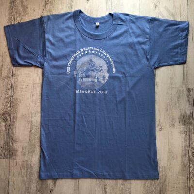 Férfi póló U23 EWC-kék