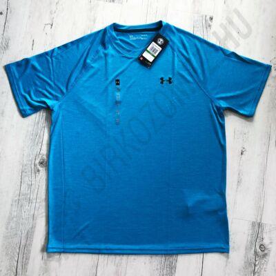 UNDER ARMOUR Heatgear kék férfi póló L