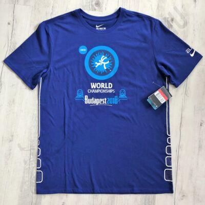 NIKE Word Championships Bp 2018 kék-L