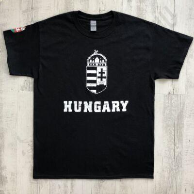 Férfi póló - Hungary - Fekete