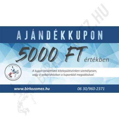 Ajándékkupon - 5.000 Ft