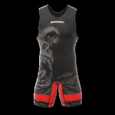 SMMASH Birkózómez- (Gorillás) - piros