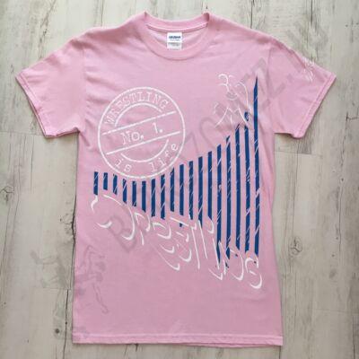 Női póló - Nagy Pecsét-rózsaszín