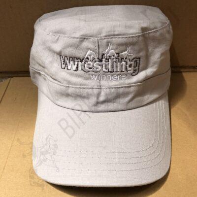 Baseball Sapka-Wrestling felirattal-bézs