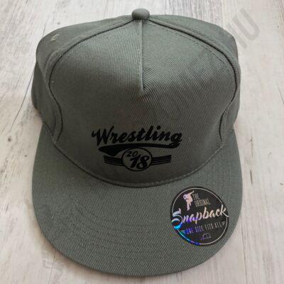 SNAPBACK - Wrestling Sötétzöld