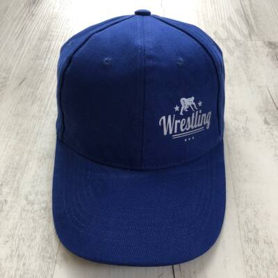 Baseball Sapka-Wrestling felirattal-Kék