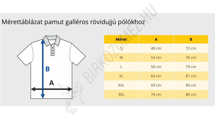 22bc36b03d Férfi póló - Galléros - Hímzett póló - Szürke - FÉRFI - Birkózómez