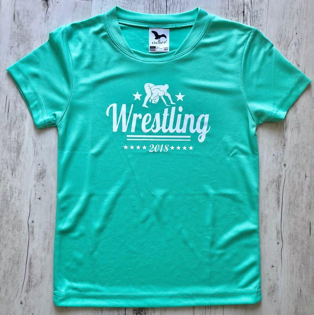 Wrestling 2018-Technikai anyagból-Gyerek póló menta - GYEREK - Birkózómez 50f6e8130e